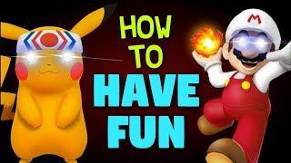 "The ULTIMATE Guide to Playing ""For Fun"" in Super Smash Bros"