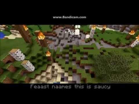 Minecraft TNT Parody Backwards with Lyrics