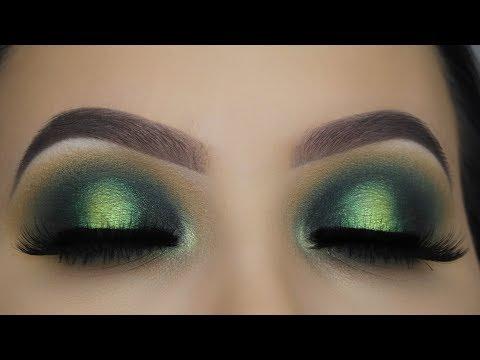 Smokey Emerald Eye Makeup Tutorial