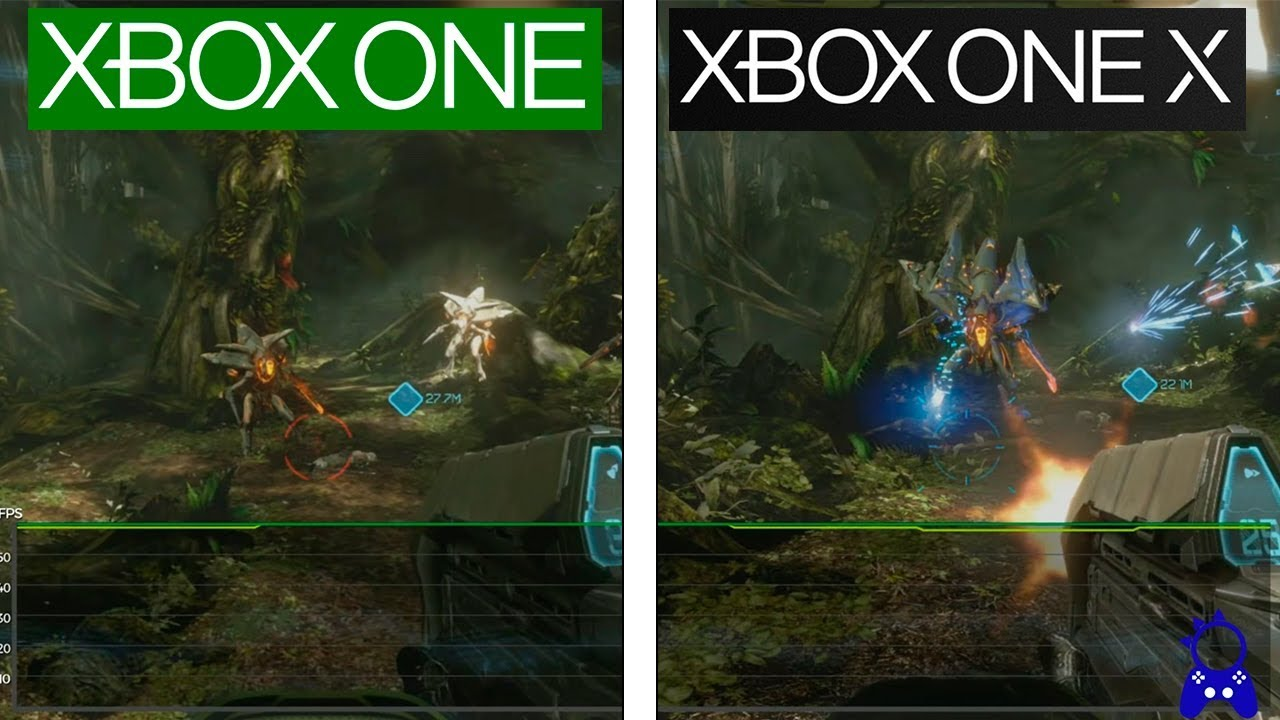 Halo Master Chief Collection Xbox One X Vs Xbox One Framerate Test Comparison
