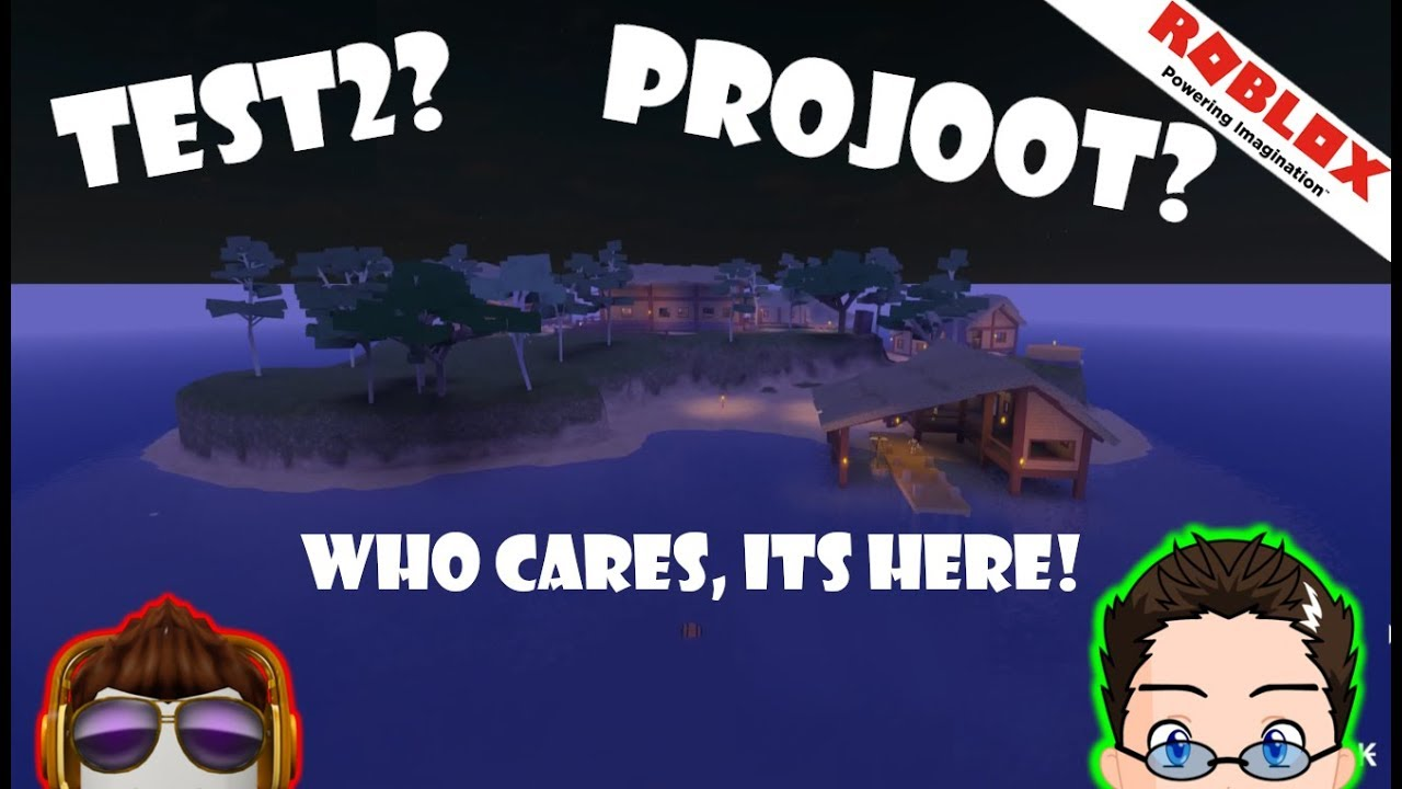 Roblox - DEFAULTIOS NEW GAME! Test2 (Projoot)?
