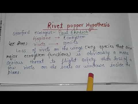 Rivet Popper Hypothesis _ Stanford ecologist Paul Ehrlich