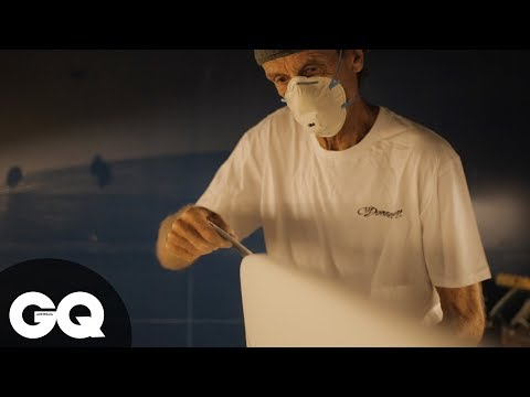 Shaping Waves With Steve O'Donnell   GQ Shorts   Ep 0001