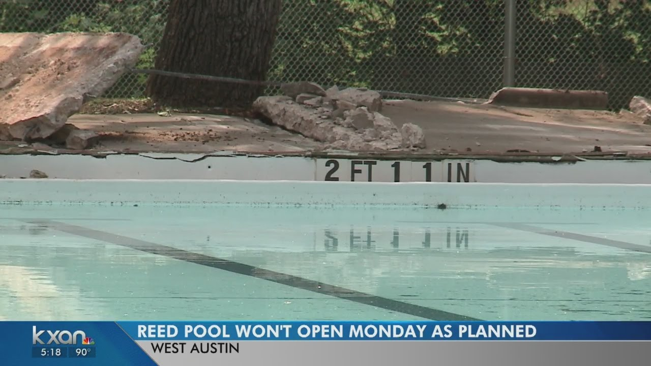 West Austin Pool Will Remain Closed Due To Leak Youtube