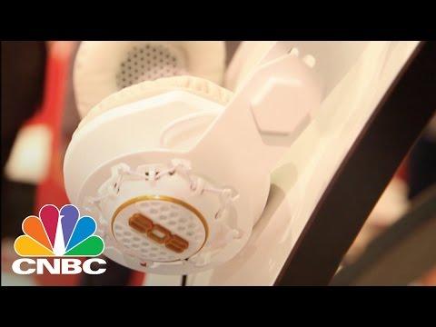 808 Audio's New Perfomer BT Wireless Headphones | CES 2015 | CNBC