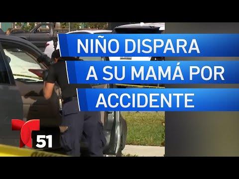 Lucyl Bee - Niño le dispara accidentalmente a su mamá en Fort Lauderdale