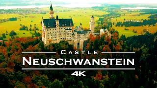 Neuschwanstein Castle, Germany 🇩🇪 - by drone [4K]