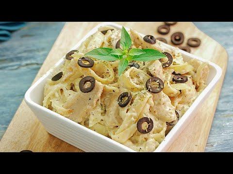 Chicken Alfredo Pasta | Alfredo Fettuccine Recipe By SooperChef