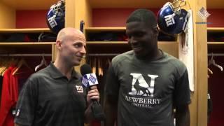 Giants Insider: WR Corey Washington