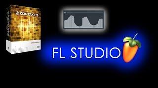 FL Studio 12 - автоматизация Kontakt 5 и других плагинов. Использование контроллеров