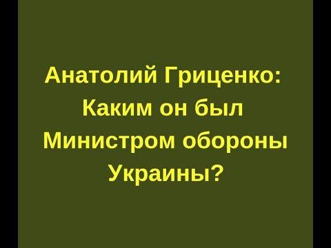 Анатолий Гриценко: Каким
