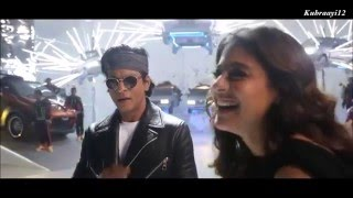 Shah Rukh Khan & Kajol -Tukur Tukur Song Dilwale behind the camera editing