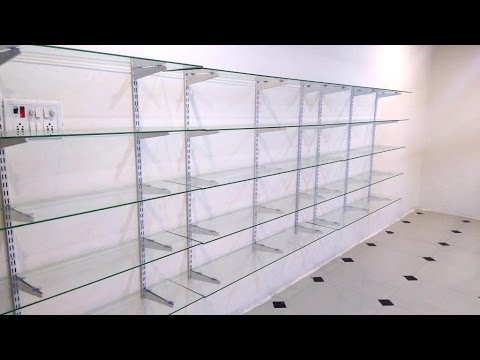 Glass Rack Design For Shop Home Office Business Youtube