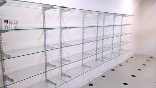 Glass Rack Design for Shop, Home, Office & Business