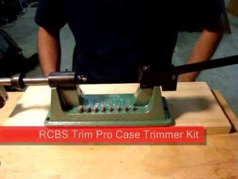 Rcbs Trim Pro Manual Case Trimmer Kit