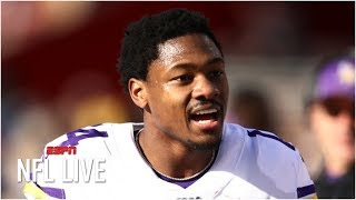 What does Stefon Diggs' cryptic tweet mean for him and the Vikings? | NFL Live