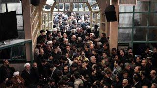 Thousands attend funeral of former Iranian President Akbar Hashemi Rafsanjani