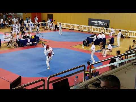 Jaouad Achab @ 2018 Luxembourg Open (match 1)