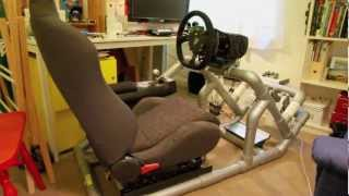 Hints & tips to DIY a PVC Sim driving rig, Part 1 of 5(Design is credited to Simul8r - go to Page 9 for plans: http://insidesimracing.tv/forums/topic/681-simul8r-rig-2-pvc-schedule40-mark-ii-plans-on-pg-9/ Material is ..., 2013-02-14T10:27:13.000Z)