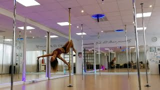 Pole Dance Advanced Choreography (Fleurie - Hello)