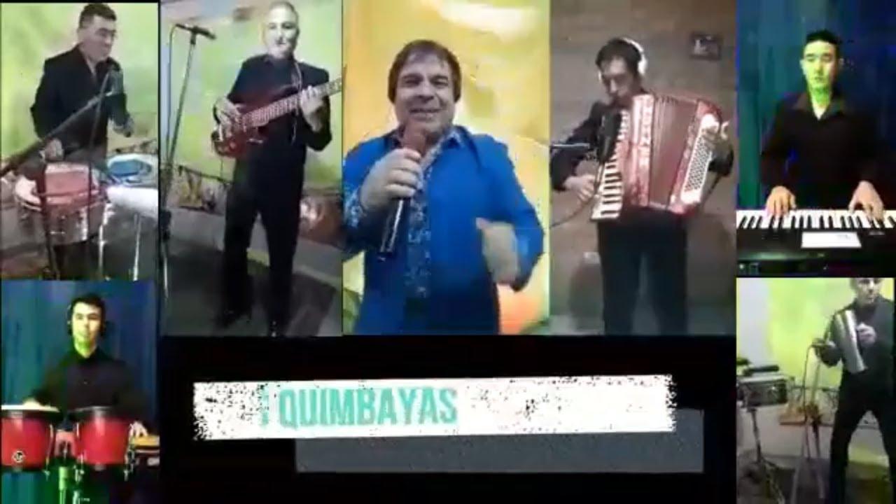 Los Quimbayas - Bailando la cumbia │ VIVO EN CUARENTENA