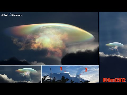 An Invisible UFO Above The Cloud in Fort Lauderdale, Aug 29, 2020