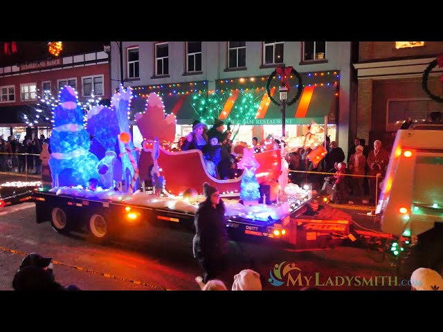 2019 Ladysmith Festival of Light - Light up Parade