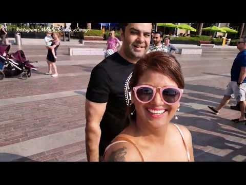 Dubai Mall Tour with Mamta Sachdeva Cabin Crew