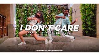 Ed Sheeran & Justin Bieber - I Don't Care (Remix + Fan Dance Video)