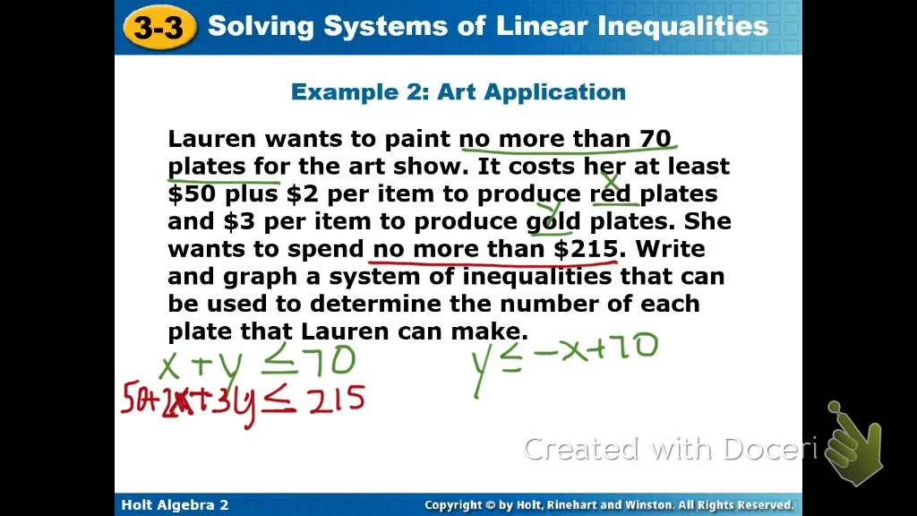 Solving Inequalities Word Problems Worksheet. Worksheets ...