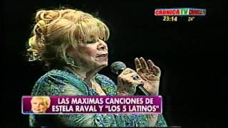 """Estela Raval """"En un rincon del alma"""" - Luna Park 2008"""