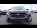 2017 Ford Edge Sport Review And POV - Best Looking SUV In It's Class ?