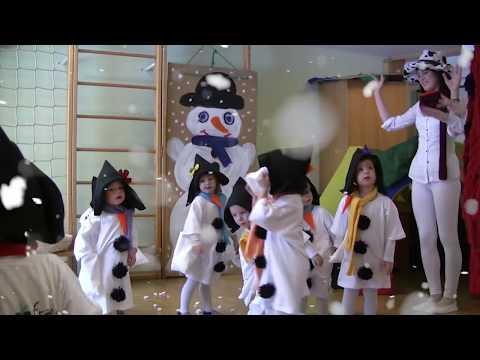 Winter Schneemann Fest - Lieder Sprüche Tanz - Minis Kita Kinderkrippe Kinder-Bad Waltersdorf