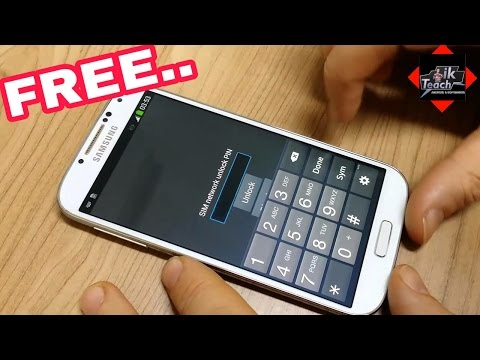 Unlock Sim Network Lock Pin Free In Samsung J3 J7 J5 All Series Without Root