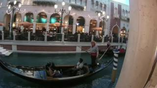 Гондолы и каналы Венеции! The Venetian Las Vegas!(Отель-казино