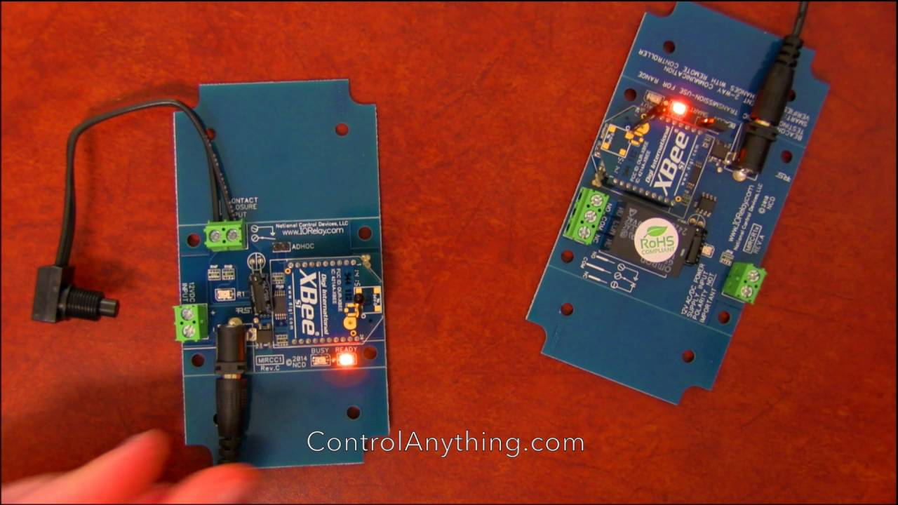 Remote Pump Controller Wireless Relay Board Point to Point 802 15 4