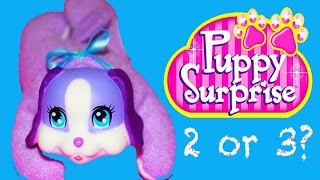 WHO GETS PUPPIES? New Puppy Surprise Toys 2016 ❤ DOGS Pet Friend Baby Alive Boo Boo Doll
