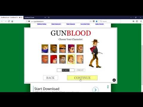 GunBlood com   GunBlood Western Shootout Gunfight Game   Mozilla Firefox 2 20 2018 6 39 16 PM