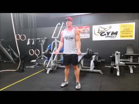 5ft Compact Olympic Barbell 700lbs Bicep Curls With The Srt By Lebert Fitness Inc