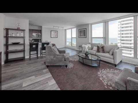 A 2-bedroom, 2-bath model at The Bryn in Edgewater