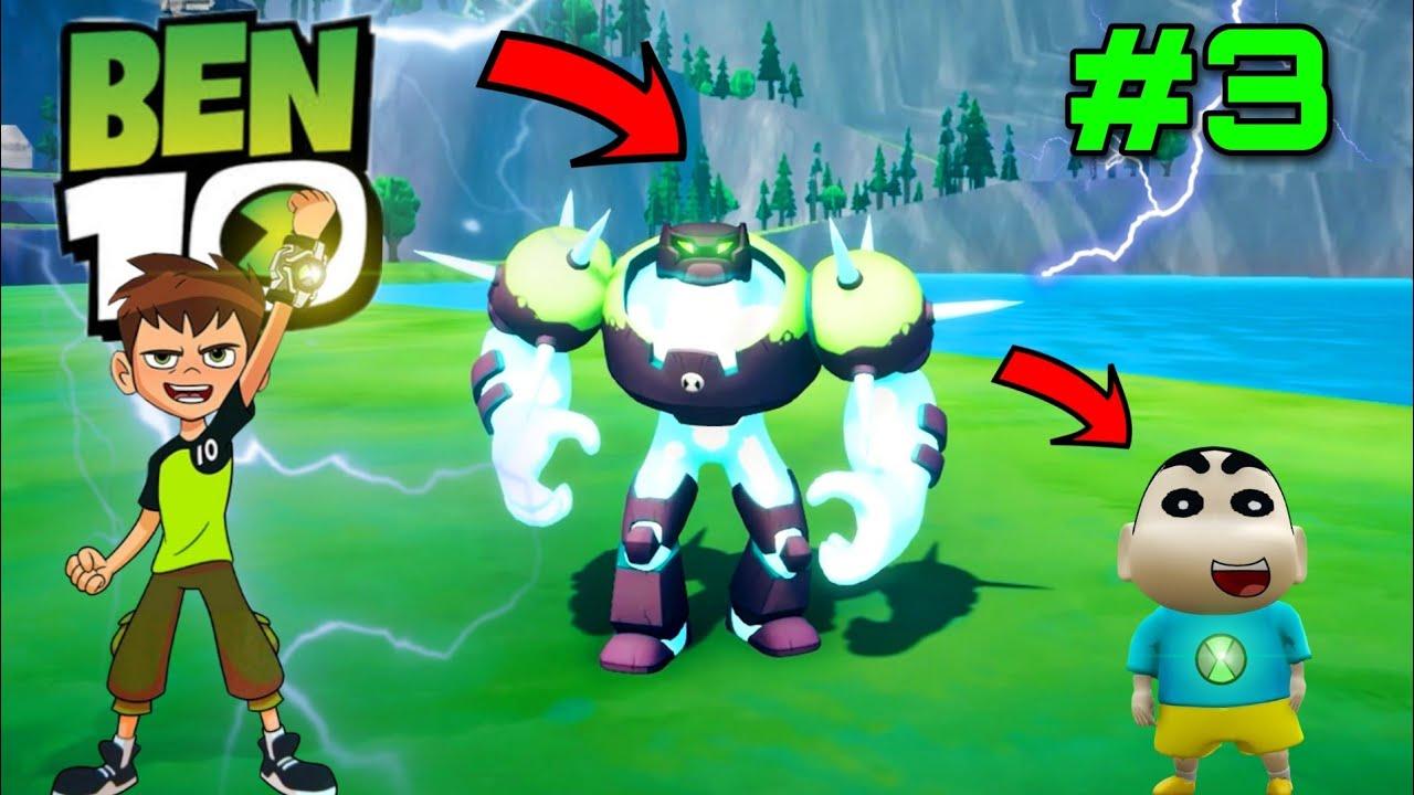 Download SHINCHAN Found BEN 10's Thunder Alien SHOCK ROCK ( PART 3 )   IamBolt Gaming