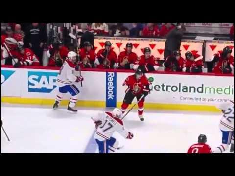 Montreal Canadiens vs Ottawa Senators. PlayOff NHL 2015