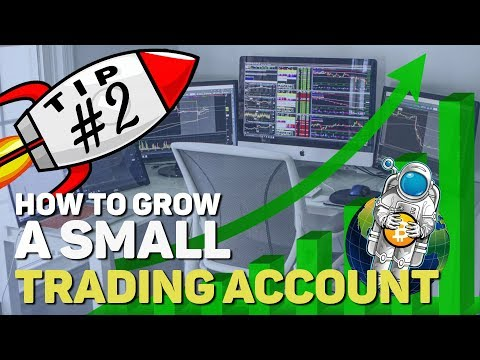 How to Grow a Small Cryptocurrency Trading Account - Tip 2