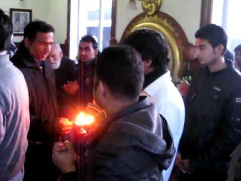 Lord Krishna Aarti In Tbilisi Georgia
