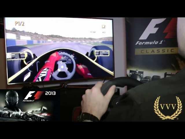 F1 2013 Classic Jerez Practice Gameplay