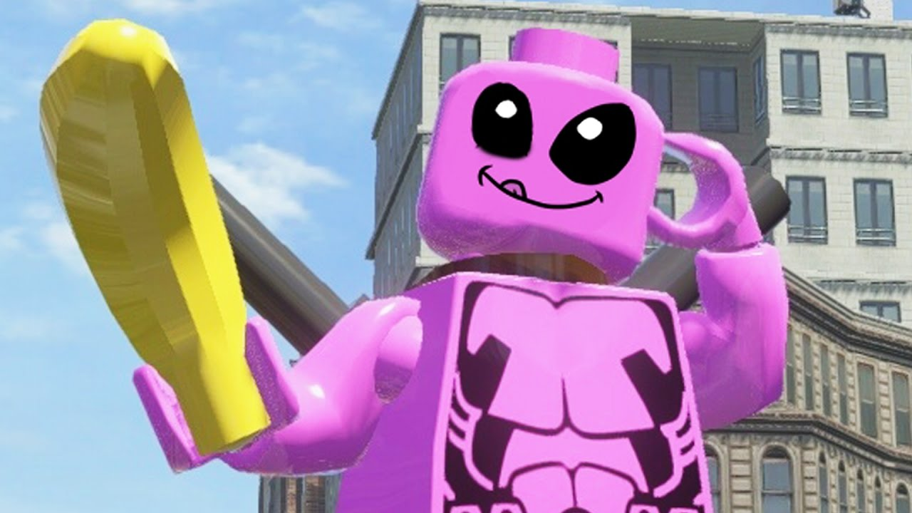 lego marvel superheroes pink deadpool free roam gameplay