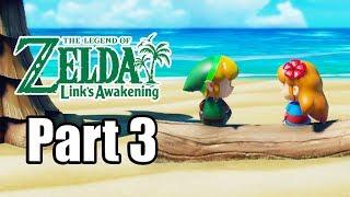 The Legend of Zelda: Link's Awakening (2019) Switch Gameplay Walkthrough Part 3 (No Commentary)