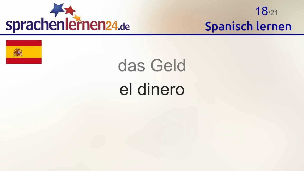 Spanisch Lernen Teil 2