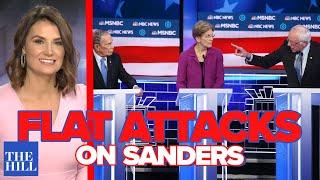 Krystal Ball: In the debate tired attacks on Bernie fall flat