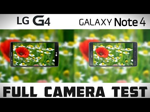LG G4 vs Galaxy Note 4